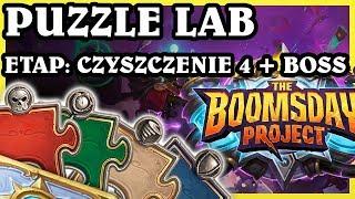 ETAP: CZYSZCZENIE 4 + BOSS - Hearthstone Puzzle Lab
