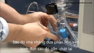 hướng dẫn sử dụng, vận hành máy cất nước A4000