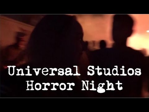 Follow me around LA - Dinner at Sawtelle and Horror Nights