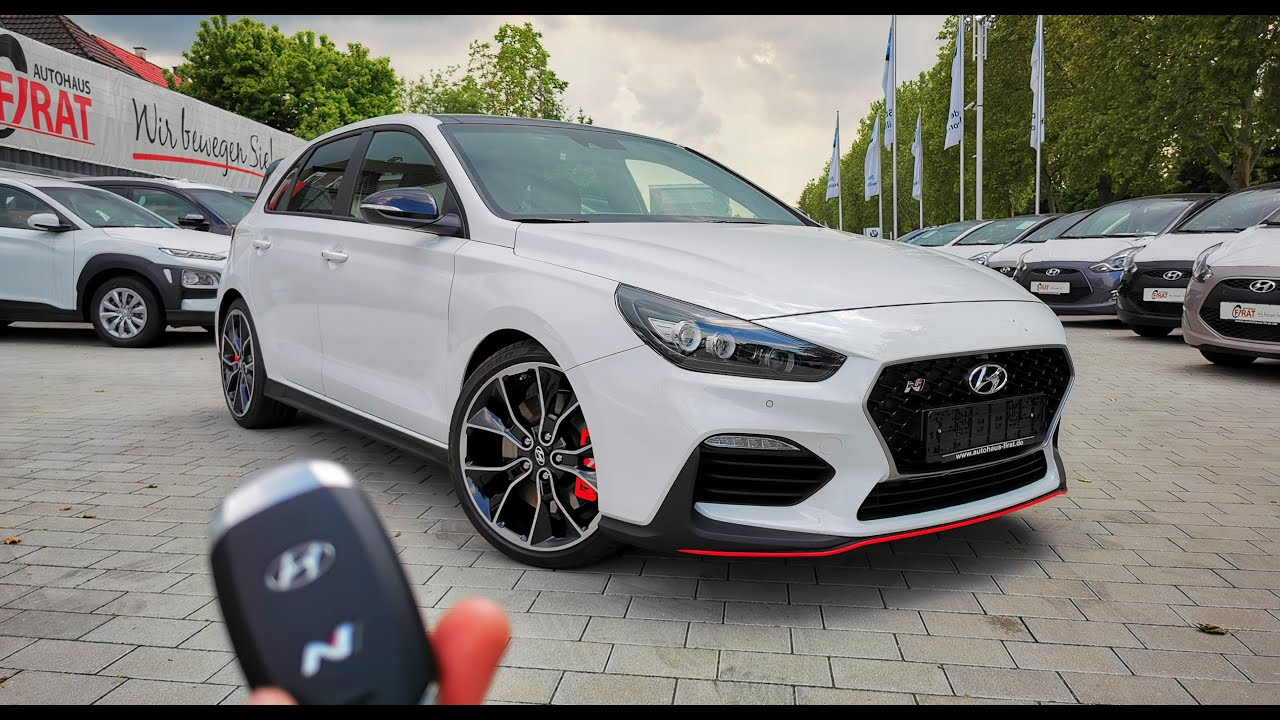 2019 hyundai i30n performance pack exhaust pops start up interior youtube