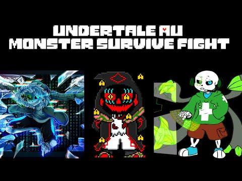 ROBLOX | Undertale AU Survive Monster Fight UnderVirus Xans, Virus 404, Antivirus Sans.