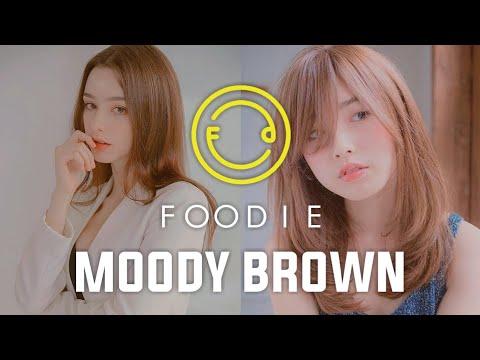 Tutorial Foodie Edit Foto Moody Brown | Moody Feeds Instagram