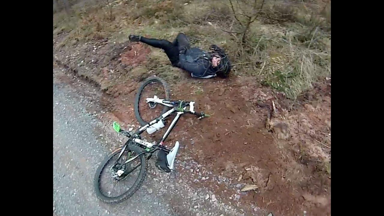 Sherwood Pines New Down Hill Trail Run 2 Mtb 01 04 2013 Youtube