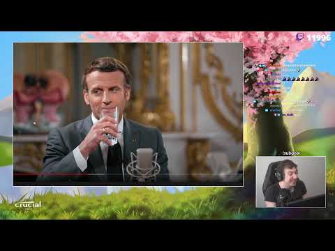 "Sardoche ~ Insulte Macron d'enculé ! ""Il s'excuse!"""