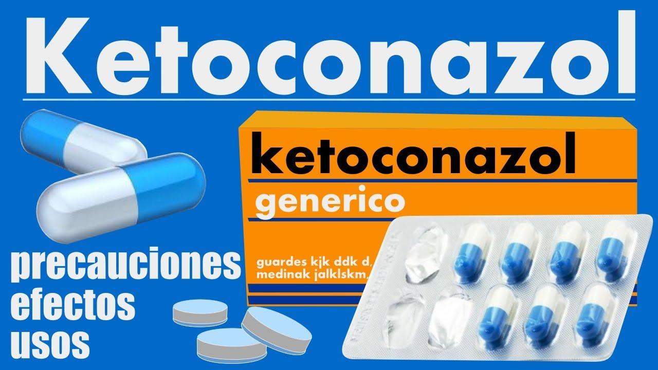 para que sirve ketoconazol pastillas