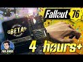 FALLOUT 76 BETA - 4+ HOURS LIVE - ALMOST HEAVEN!
