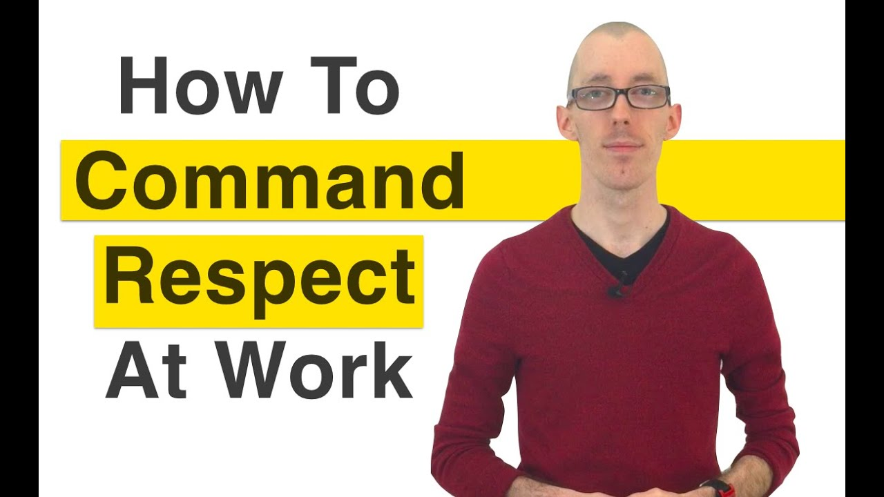 respect in work When it comes to garnering commitment and engagement from employees, there is one thing that leaders need to demonstrate: respect that's what we saw in a study of nearly 20,000 employees around the world (conducted with hbr and tony schwartz) in fact, no other leader behavior had a bigger effect.