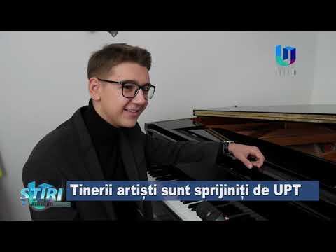 TeleU: Tinerii artiști sunt sprijiniți de UPT