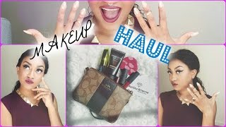 MAKEUP HAUL - Part 1| Martika Brianne