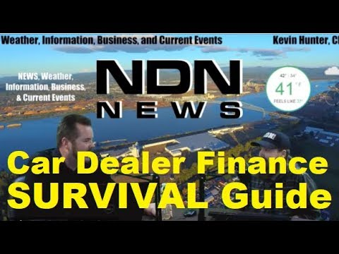 SURVIVAL GUIDE: CAR DEALERHIPS FINANCE - Auto Expert 2020 For Car Buyers