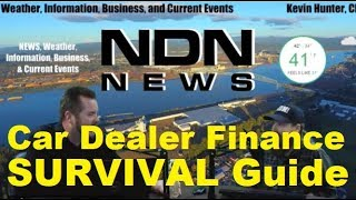 Survival Guide for CAR DEALER FINANCE - Northwest Digital News - Auto, Vehicle advice