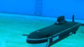 Tk-20 Model RC Submarine Typhoon Class (Project 941 Akula )