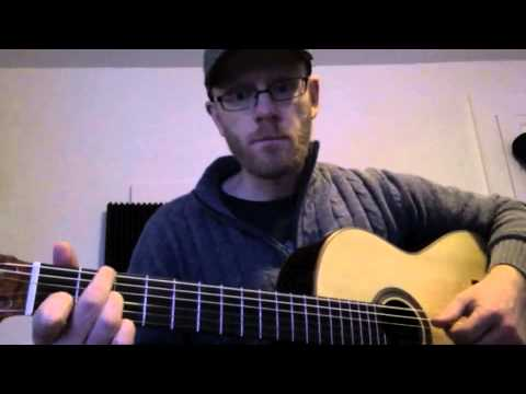How To Play Tiger Mountain Peasant Song By Fleet Foxes On Guitar