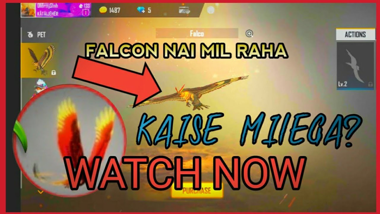 kyu nai mil raha new pet falcon || Free Fire ||#KATAIJEHERYT || request timeout problem solved||