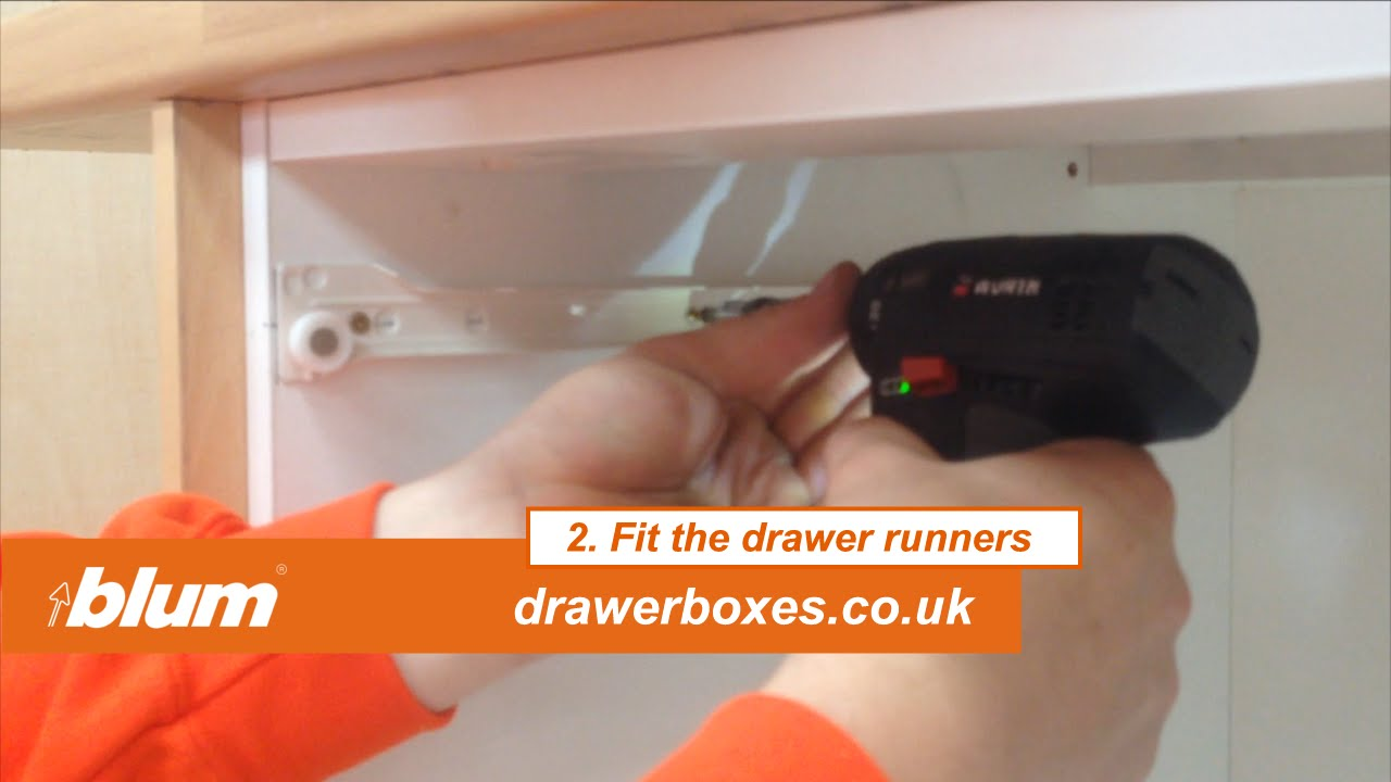 Beautiful Blum Metabox   Shallow Replacement Kitchen Drawer Box   2 Of 3 Fit The  Drawer Runners   YouTube
