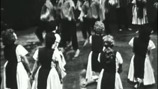 Technion dance troupe Haifa  להקת הריקודים של הטכניון, חיפה - live in France, 1960