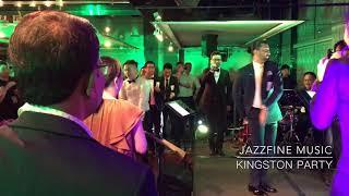 爵士風派對音樂-台北晶華酒店企業春酒