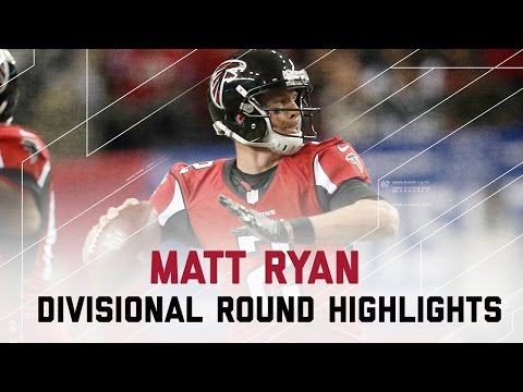 Matt Ryan Tosses 4 TD Passes! | Seahawks vs. Falcons | Divisional Player Highlights