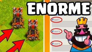 clash of clans   changements enormes tours  bombes hdv 8 9 10 11