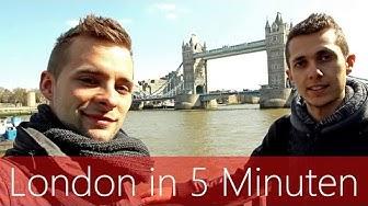 London in 5 Minuten   Reiseführer   Die besten Sehenswürdigkeiten