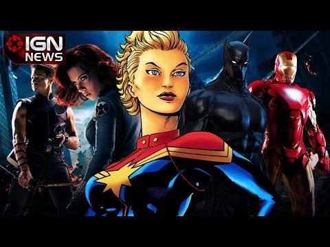 Marvel Announces 9 Movies - IGN News