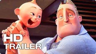 СУПЕРСЕМЕЙКА 2 ✩ Трейлер #1 (Брэд Бёрд, Мультфильм, СуперХеро, Pixar, 2018)