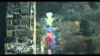 Macys Thanksgiving Day Parade 2015 - Aerial Production Clip 2