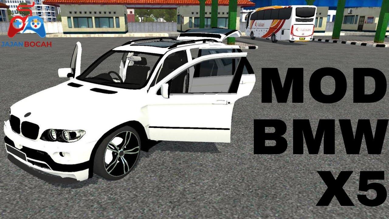MOD MOBIL BMW X5   BUSS ID   Bus Simulator Indonesia   Game Truck   Permainan Simulator