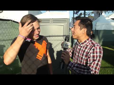 Robert Delong Interview at the Treasure Island Music Festival 2013