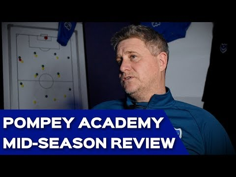 Pompey Academy Mid-Season Review With Mark Kelly