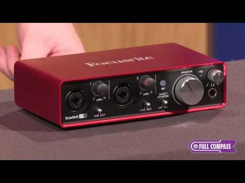 Focusrite Scarlett 2i2 (2nd Gen) 2x2 USB 2 0 Audio Interface