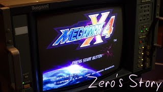 A 100% playthrough of Zero's Story in Mega Man X4 for the Sega Saturn being played on an Ikegami TM14-17R Professional CRT Monitor. Detailed write up ...