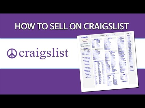 How To Sell Craigslist Tips And Tricks Video Forex