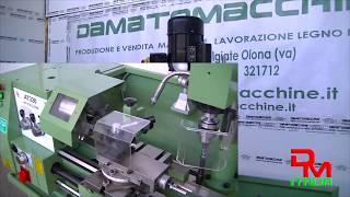 Combinado Torno Fresadora Taladro para Metales modelo Damatomacchine Master 800 Super