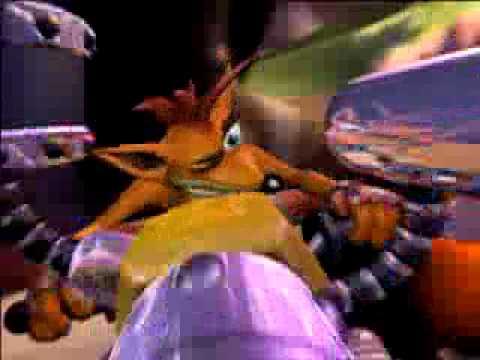 Crash Bandicoot Tag Team Racing - PSP - Die-o-Rama - Tough ...