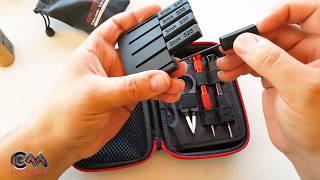 Coil Master DIY Kit Mini + Vape Brush + Ceramic Tweezers Bent RoBeR VaPiNG RoBeR VaPiNG