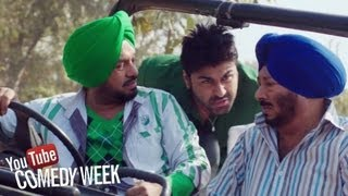 Jeep di breakan fail - Punjabi Comedy Scene - Jatts in Golmaal | Youtube Comedy Week India