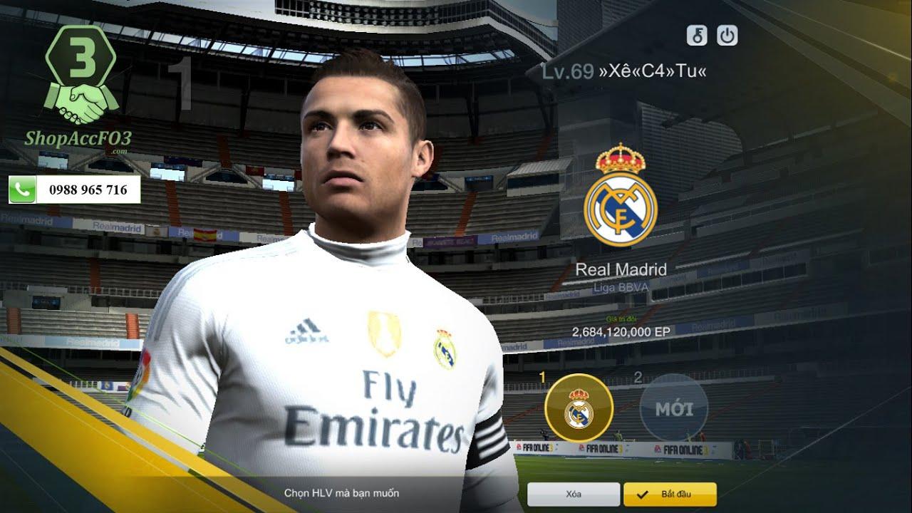 Mua Bán Acc Fifa Online 3 Vip | 2,66 Tỷ EP Với Dàn Top Player Full Level 20  & Dàn HLV Cực Khủng - YouTube