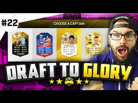HOLY SH*T BEST CARD EVER! - FUT Draft to Glory #22 - FIFA 16 Ultimate Team
