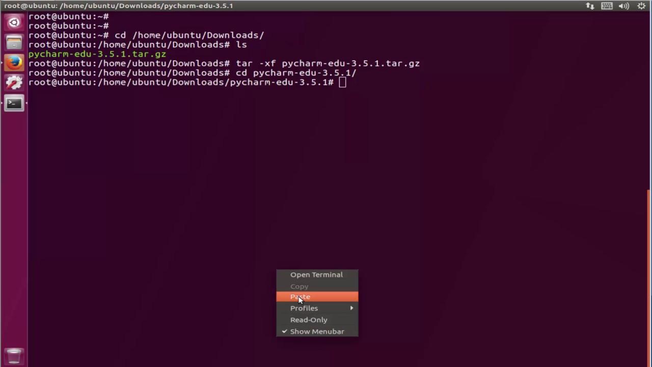 How to Install pycharm-edu in ubuntu 17 zesty zapus and Linux Mint