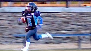 8 Year Old Phenom Champ Brown goes 90 Yd - Nice TD Run