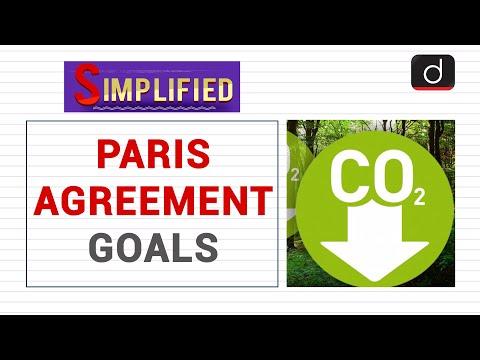 Paris Agreement Goals: Simplified
