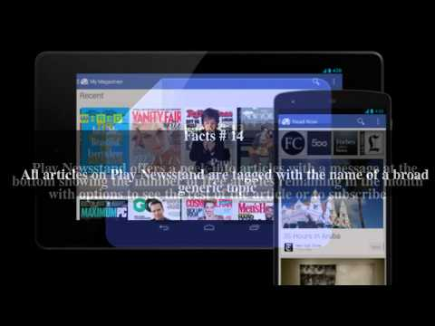 Google Play Newsstand Top # 23 Facts