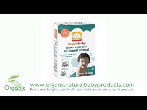 Natural Happy Bellies Organic Baby Cereal Mothers & Women's