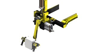 Easy to use Mechanical Gripper with Incremental Rotation AIM6358