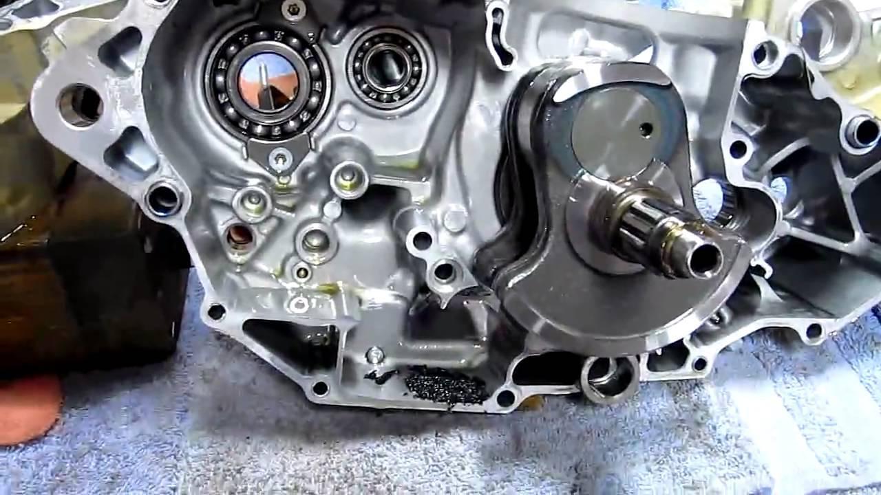 Yamaha Yfz450r Engine