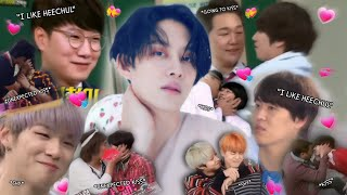 Every hetero man doesn't against dating with Heechul