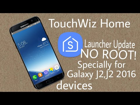 Galaxy J2 Launcher Update For No root  EXCLUSIVELY for Samsung Users