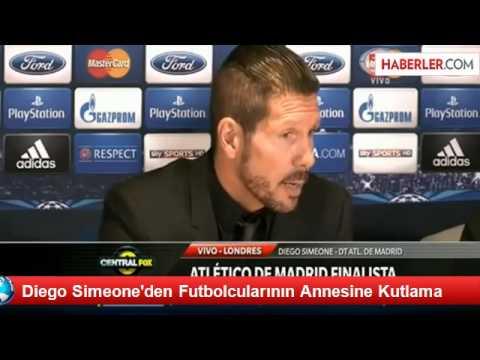 Diego Simeone - Chelsea 1 - 3 Atletico Madrid.. (-MAÇ SONU-) 30.04.2014