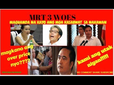 ROXAS IPAPAKULONG NA/CORRUPTION SA MRT TUKOY NA